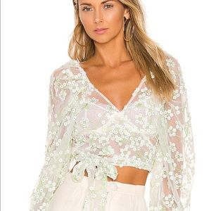 🍋For Love and Lemons Eclair Top🍋